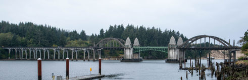 Florence Oregon Bridge Royalty Free Stock Photography