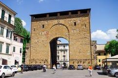 Florence ou Firenze, une vue des vieilles portes de ville photographie stock