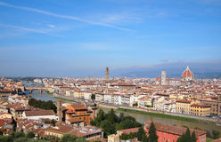 Florence overview Stock Photography