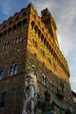 Florence Palazzo della Signoria Stock Image
