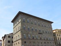 Florence, Palazzo delle Assicurazioni Generali Stock Photography