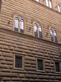 Florence palazzo pitti. Detail palazzo pitti building - one of the most beautiful places in Florence stock photo