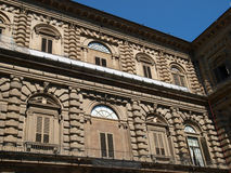 Florence - Palazzo Pitti. Palazzo Pitti one of the most famous palaces in Florence Stock Photos
