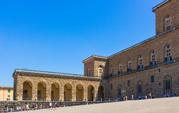 Florence, Palazzo Pitti Royalty Free Stock Photography