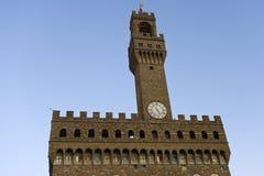 Florence, Palazzo Vecchio Stock Image