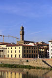 Florence, Palazzo Vecchio Stock Images