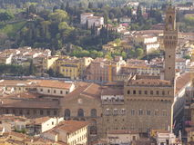 Florence, Palazzo Vecchio Royalty Free Stock Photos