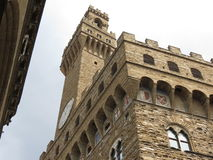 Florence, Palazzo Vecchio Royalty Free Stock Photography
