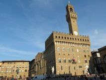 Florence, Palazzo Vecchio Royalty Free Stock Images