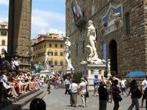 Florence, Palazzo Vecchio (XIII- XVI Century) Stock Photography