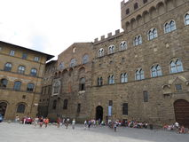 Florence, Palazzo Vecchio (XIII- XVI Century) Royalty Free Stock Images