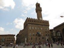 Florence, Palazzo Vecchio (XIII- XVI Century) Royalty Free Stock Photography