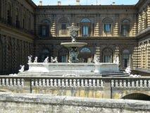 florence palazzopitti royaltyfri foto