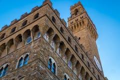 florence palazzovecchio Royaltyfri Bild
