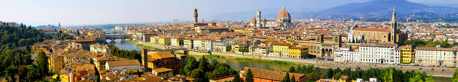 Florence panorama Royalty Free Stock Image