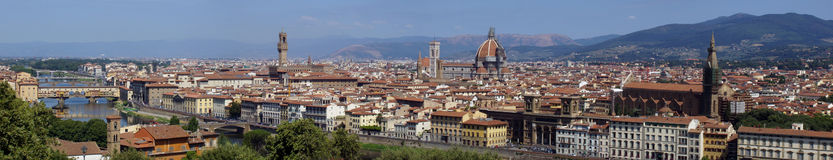 florence panorama Obrazy Royalty Free
