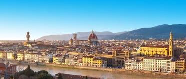 Florence, panorama royalty-vrije stock fotografie