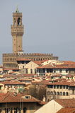 florence panorama Royaltyfri Bild