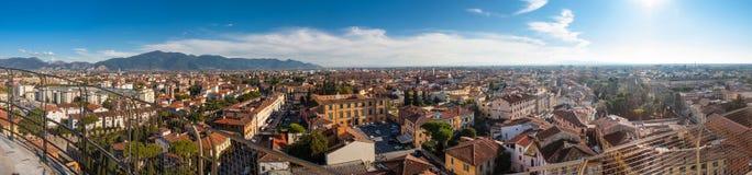 Florence panorama från taket Arkivfoto