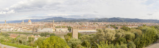 Florence panorama Italy Stock Photography