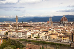 Florence panorama Italy Stock Photo