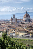 Florence panorama - Italy Royalty Free Stock Photos
