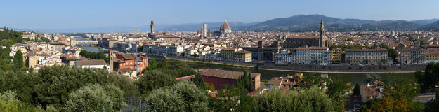 Florence panorama Royalty Free Stock Image