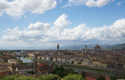 Florence panorama Tuscany, Italy Royalty Free Stock Images