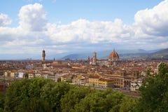 Florence panorama Tuscany, Italy Stock Photo