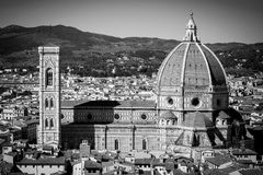 Florence Panorama in Tuscany, Italy Royalty Free Stock Photography