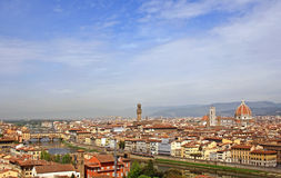 Florence panorama view Royalty Free Stock Images