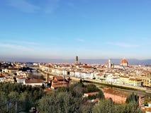 florence panorama Włochy Obrazy Royalty Free