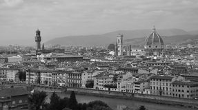 Florence panoramatic view II, Italy Royalty Free Stock Image