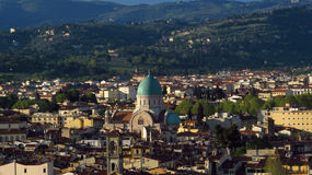 Florence panoramic city view Royalty Free Stock Images
