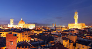 Florence panoramic, Italy Stock Photography