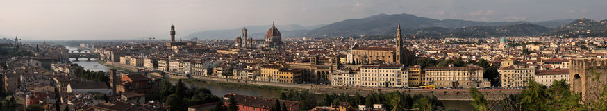 Florence  panoramic view Royalty Free Stock Image