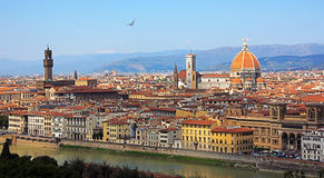 Florence, Panoramic View Royalty Free Stock Photo