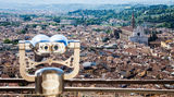 Florence panoramic view Royalty Free Stock Images
