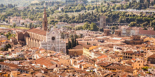 Florence panoramic view royalty free stock photo