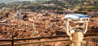 Florence panoramic view stock image