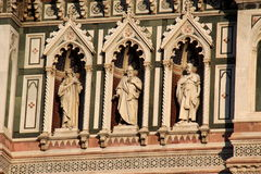 Florence, particular of the cathedral Sant Maria of Fiower Royalty Free Stock Image