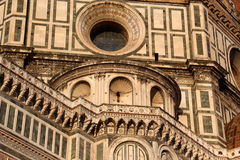 Florence, particular of the cathedral Sant Maria of Fiower Royalty Free Stock Photos