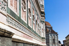 Florence, in particular the tower of Giotto Royalty Free Stock Images