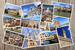 Florence photo collage Stock Photo