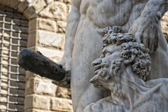 Florence Piazza della Signoria Statue Royalty Free Stock Photography