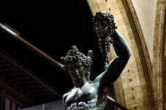 Florence Piazza della Signoria VII. Florence My city My love Stock Photography
