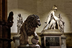 Florence Piazza della Signoria VIII Royalty Free Stock Photography
