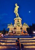 Florence Piazzale Michaelangelo royalty free stock image
