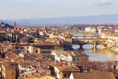 Florence from Piazzale Michelangelo, Tuscany, Italy Royalty Free Stock Photography