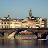 Florence. Ponte alla Carraia, Bridge on the Arno river, Florence Stock Photography